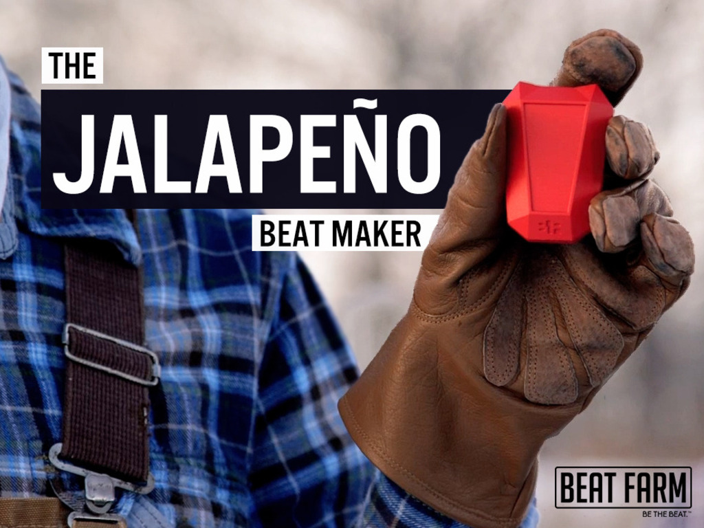 Jalapeño™ | Portable Beat Maker for Action Sports's video poster