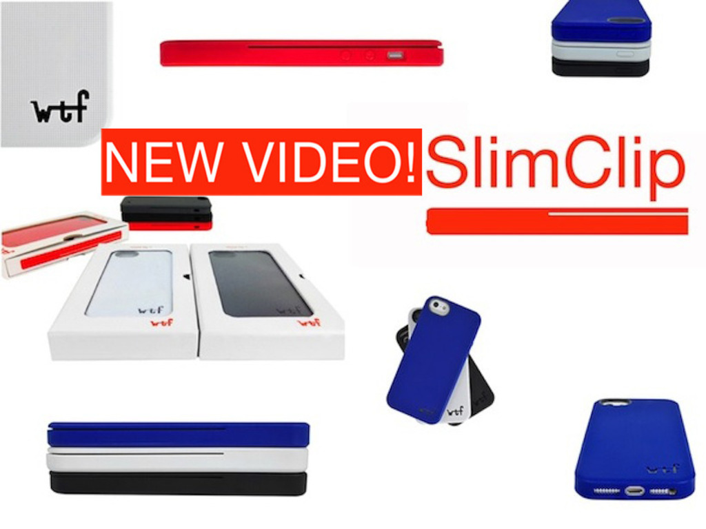 SlimClip Case - Modern   Minimal   Slim   Clip-Case's video poster