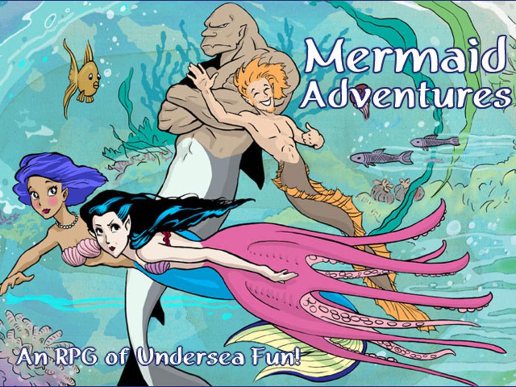 Mermaid Adventures, an RPG of Undersea Fun's video poster