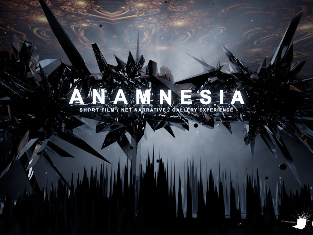 ANAMNESIA : short film / net-narrative / gallery show's video poster