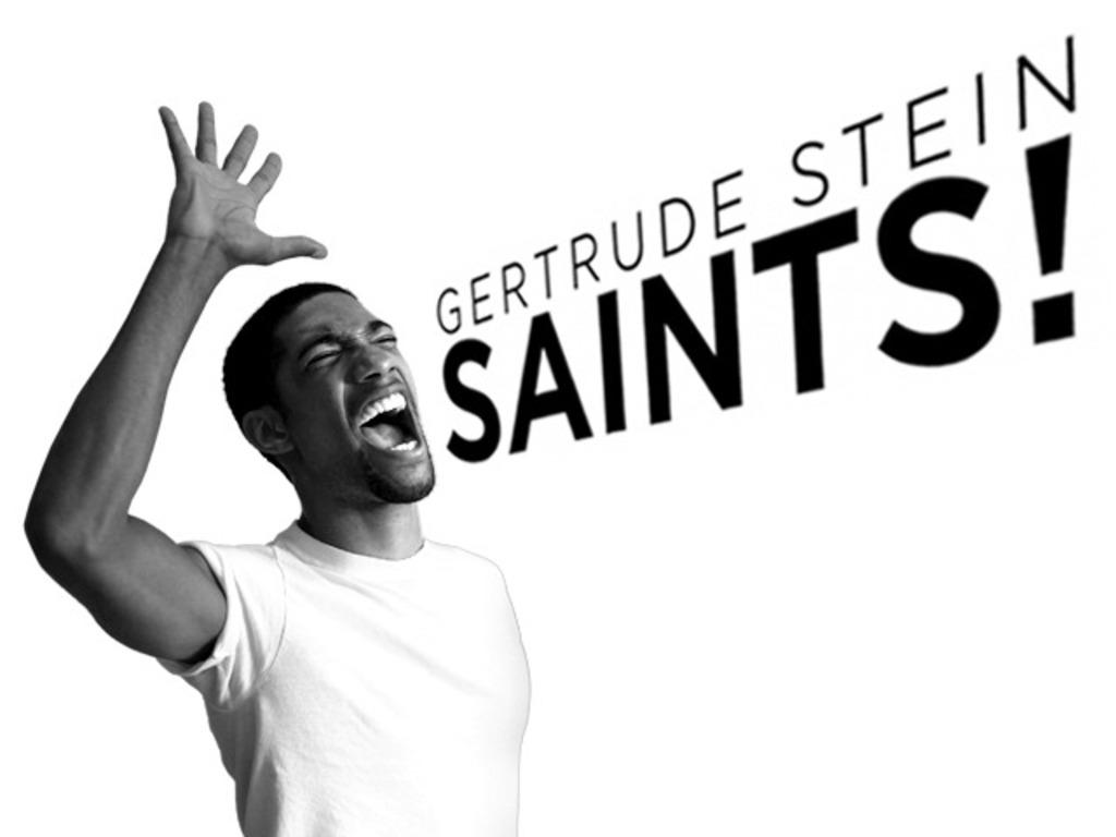 Gertrude Stein SAINTS!'s video poster