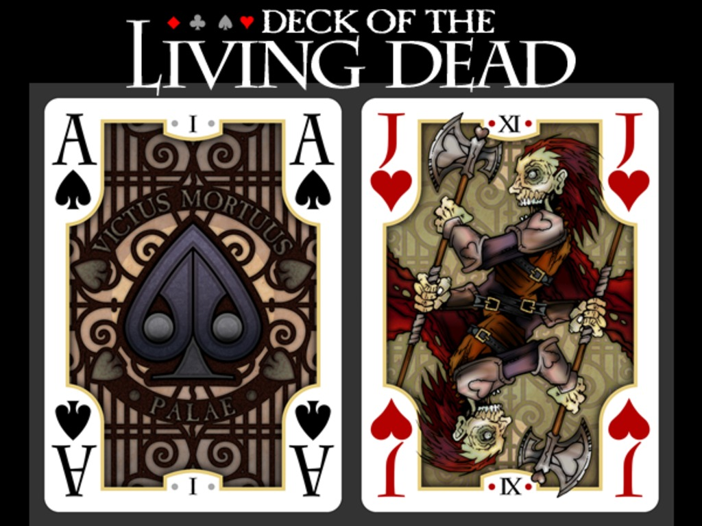 Deck of the Living Dead's video poster