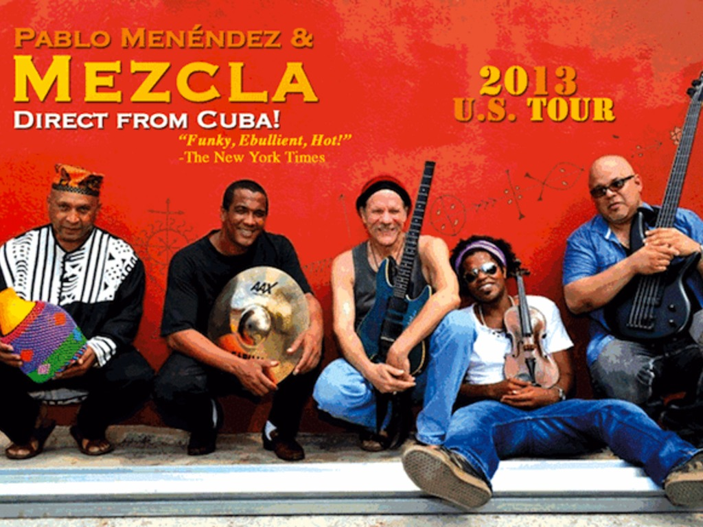 Mezcla, Direct from Cuba: 2013 US Tour's video poster