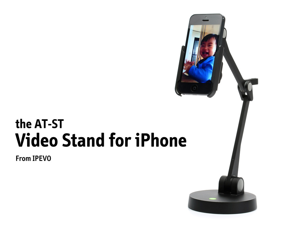 AT-ST Video Stand for iPhone 5, iPhone 4 and iPod touch's video poster