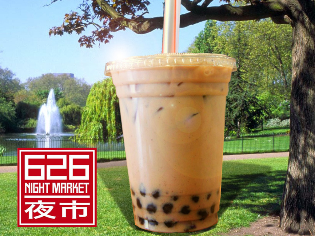 WORLD'S LARGEST CUP OF BOBA TEA's video poster