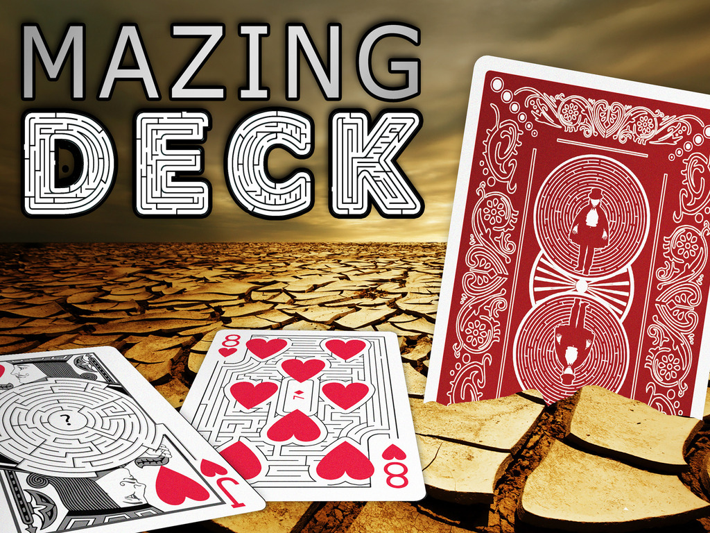 Mazing Deck - Playing Cards with a twist... and a turn.'s video poster