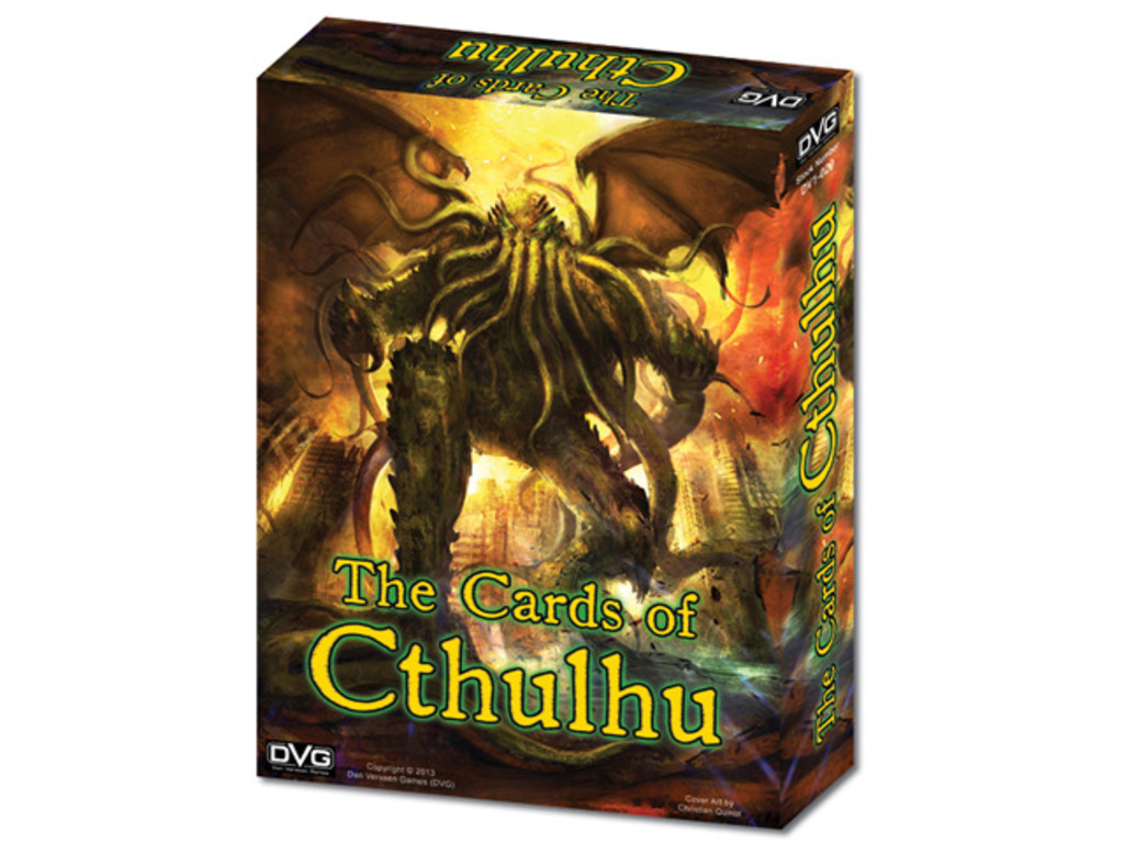 The Cards of Cthulhu's video poster