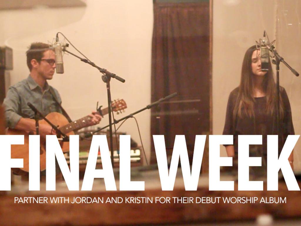 Jordan and Kristin Rippy - Worship Album's video poster