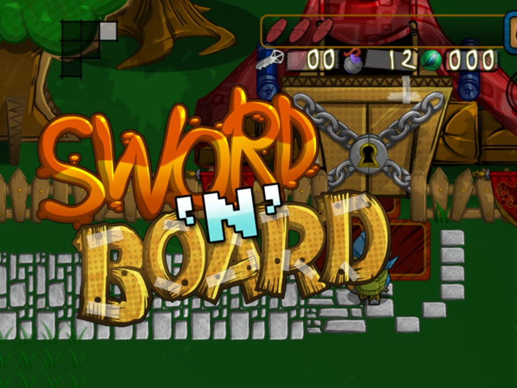 Sword 'N' Board - Now coming to Wii U!'s video poster