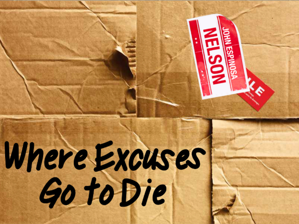 Where Excuses Go to Die's video poster