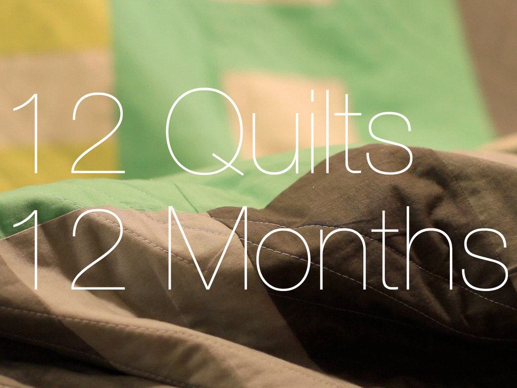 12 Quilts 12 Months's video poster