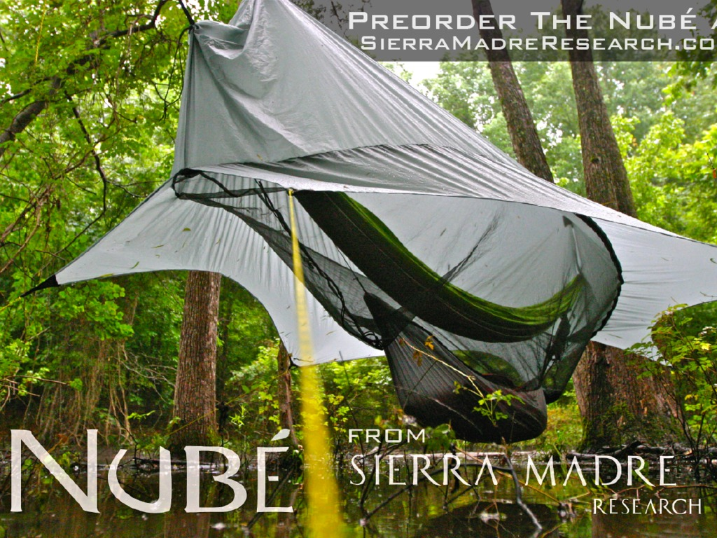 Nubé the Perfected Hammock Shelter by Sierra Madre Research's video poster