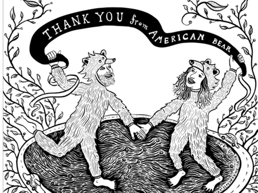 American Bear: An Adventure in the Kindness of Strangers's video poster
