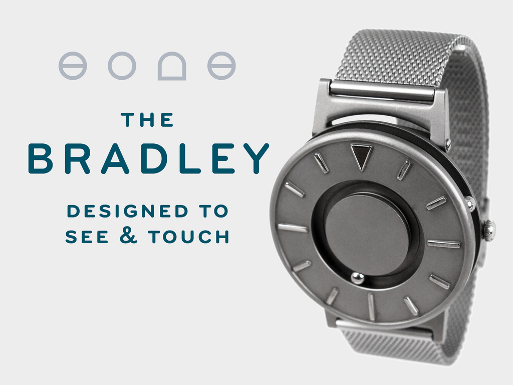 The Bradley: A Timepiece Designed to Touch and See's video poster