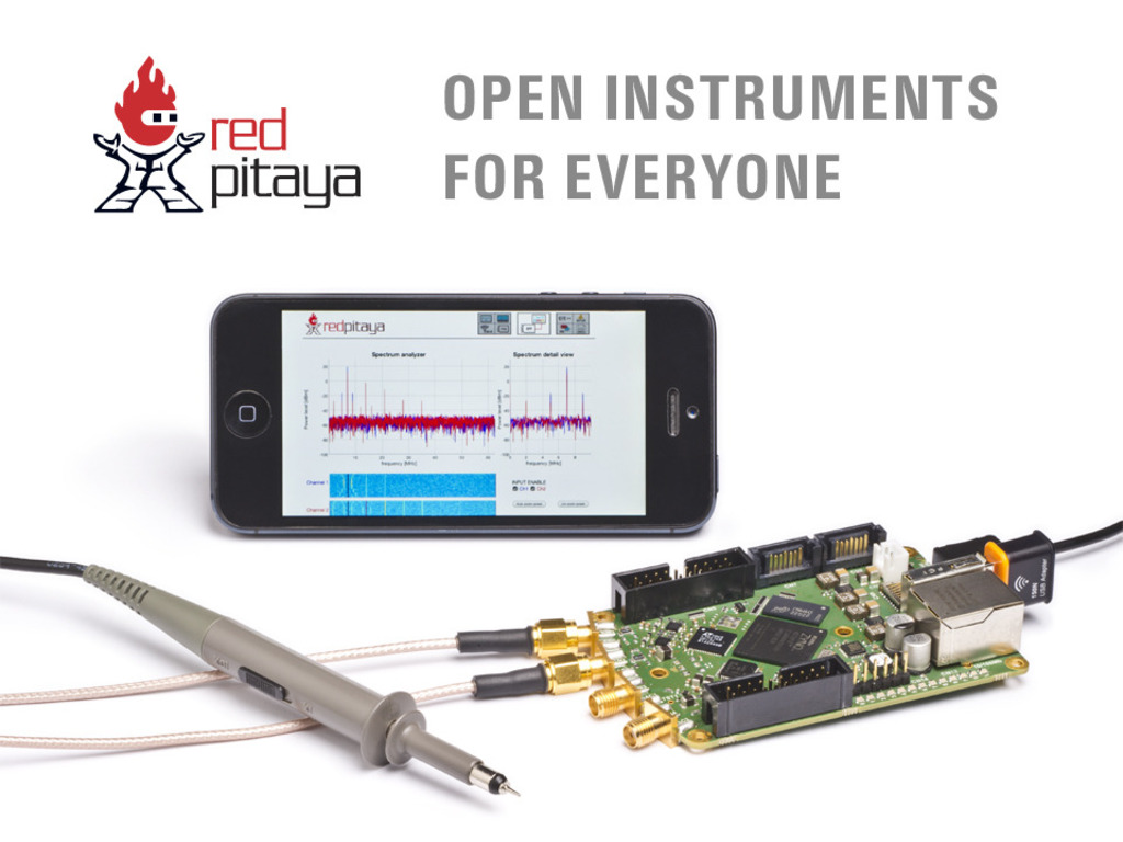 Red Pitaya: Open instruments for everyone's video poster