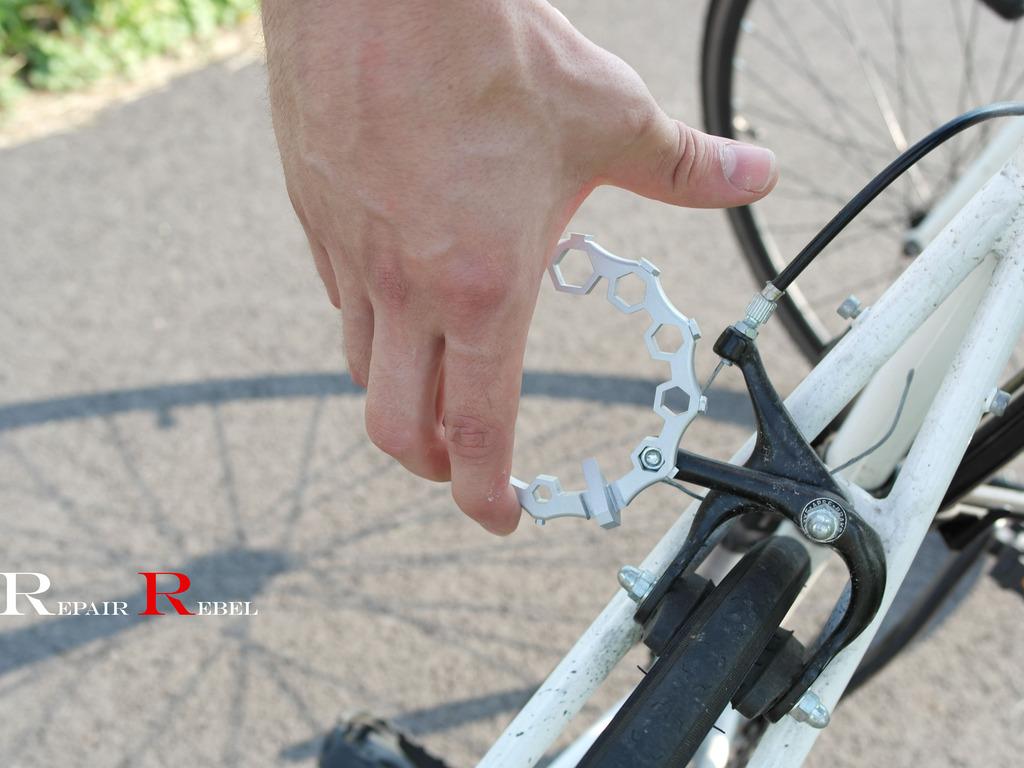 REPAIR REBEL-Bicycle Multitool, Attach Under Bike Seat!'s video poster
