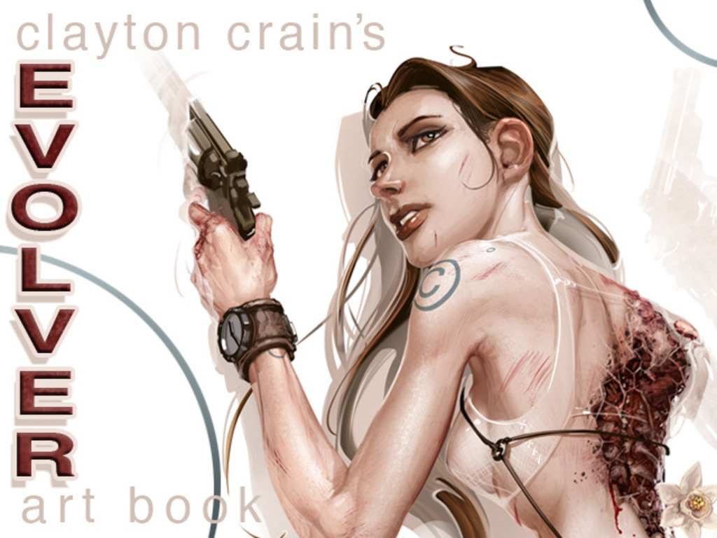 Clayton Crain: EVOLVER Hardcover Art Book's video poster