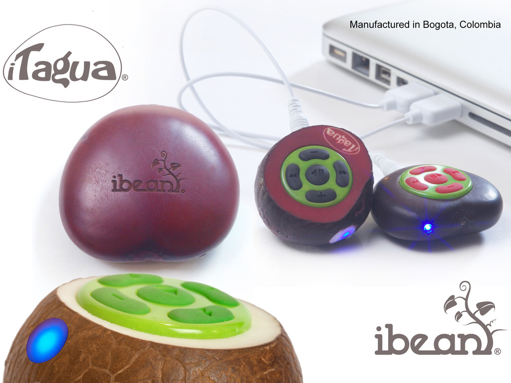 iBean® & iTagua®, the World's first Cybotanic music players.'s video poster