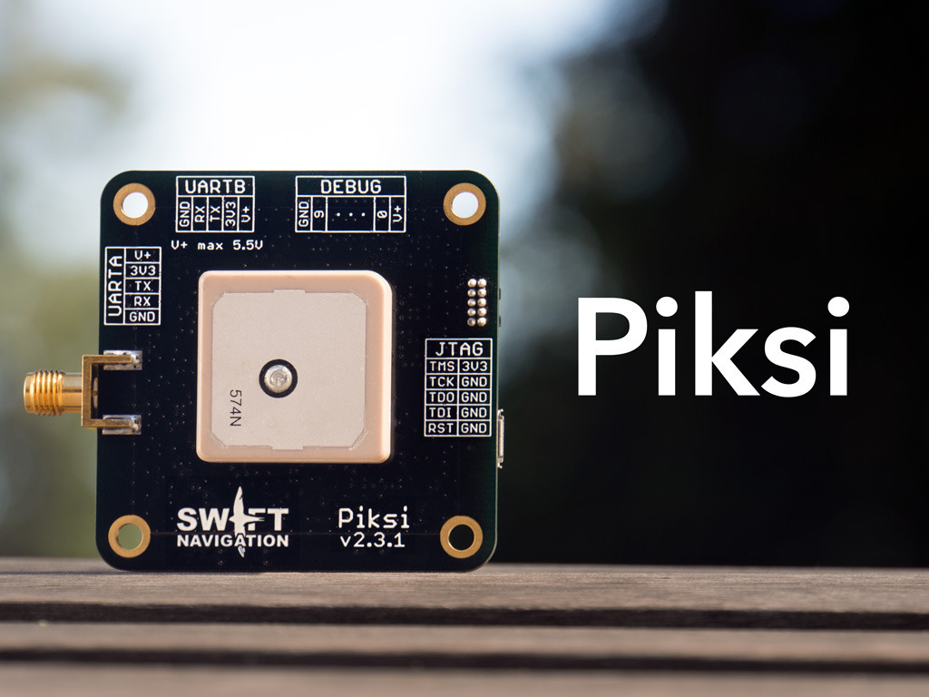 Piksi : The RTK GPS Receiver's video poster