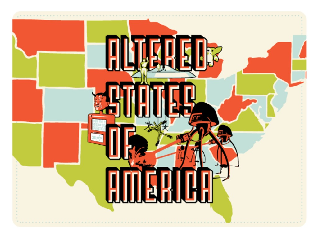The Altered States of America – Silkscreen Print Project's video poster