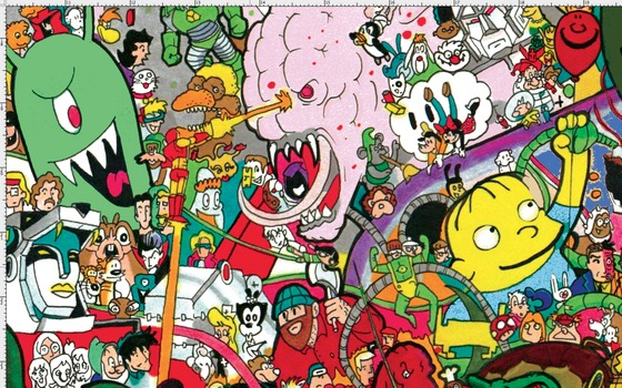 I Spy Cartoon Characters : I spy a cartoon universe by ray sumser lots of images