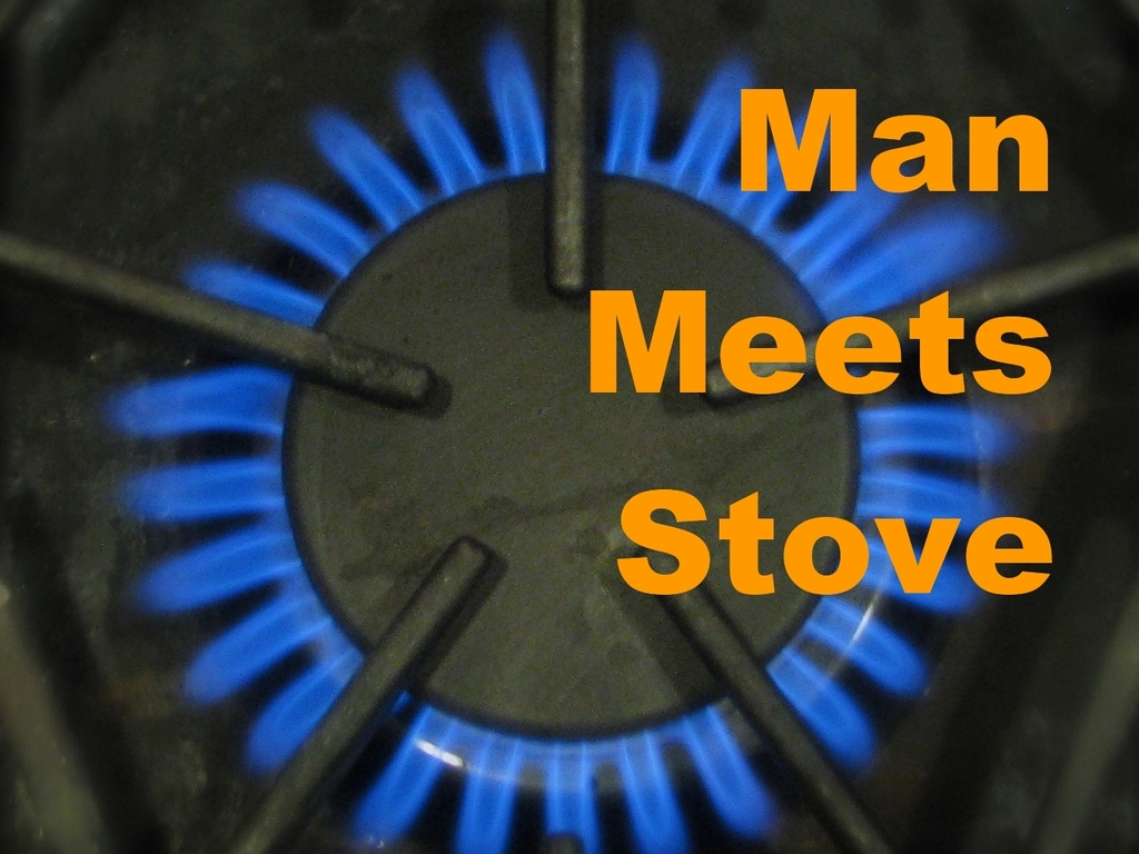 Man Meets Stove: A Comedy Cookbook for Men's video poster