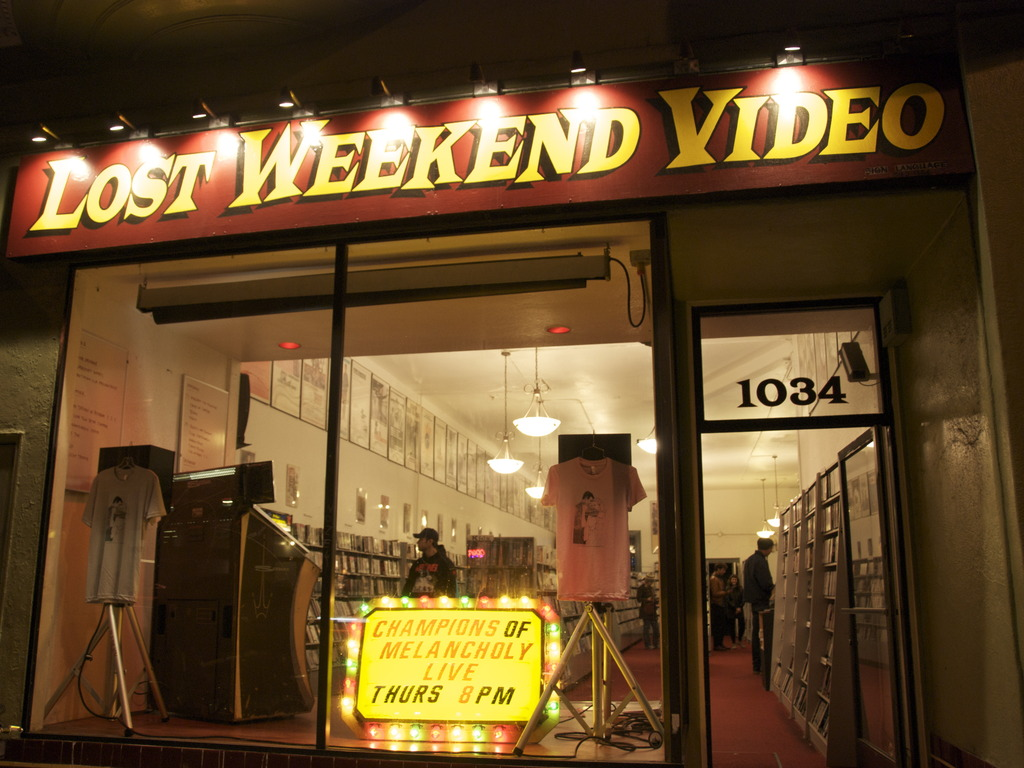 The Cinecave at Lost Weekend Video's video poster