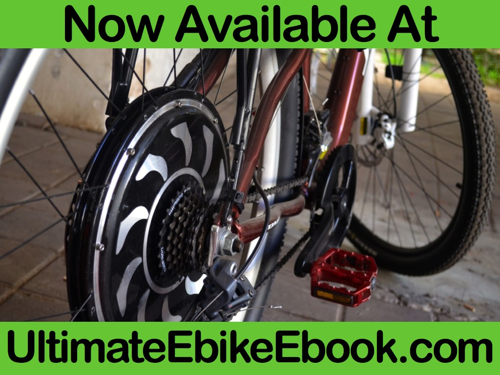 Learn To Build Your Own Electric Bicycle - The Book!'s video poster