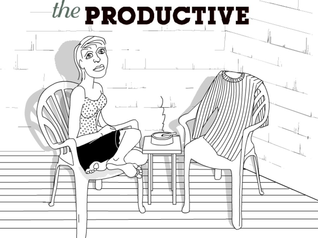 The Productive's video poster
