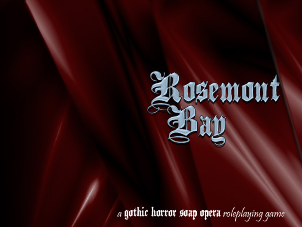 Rosemont Bay - A Gothic Horror Soap Opera Roleplaying Game's video poster