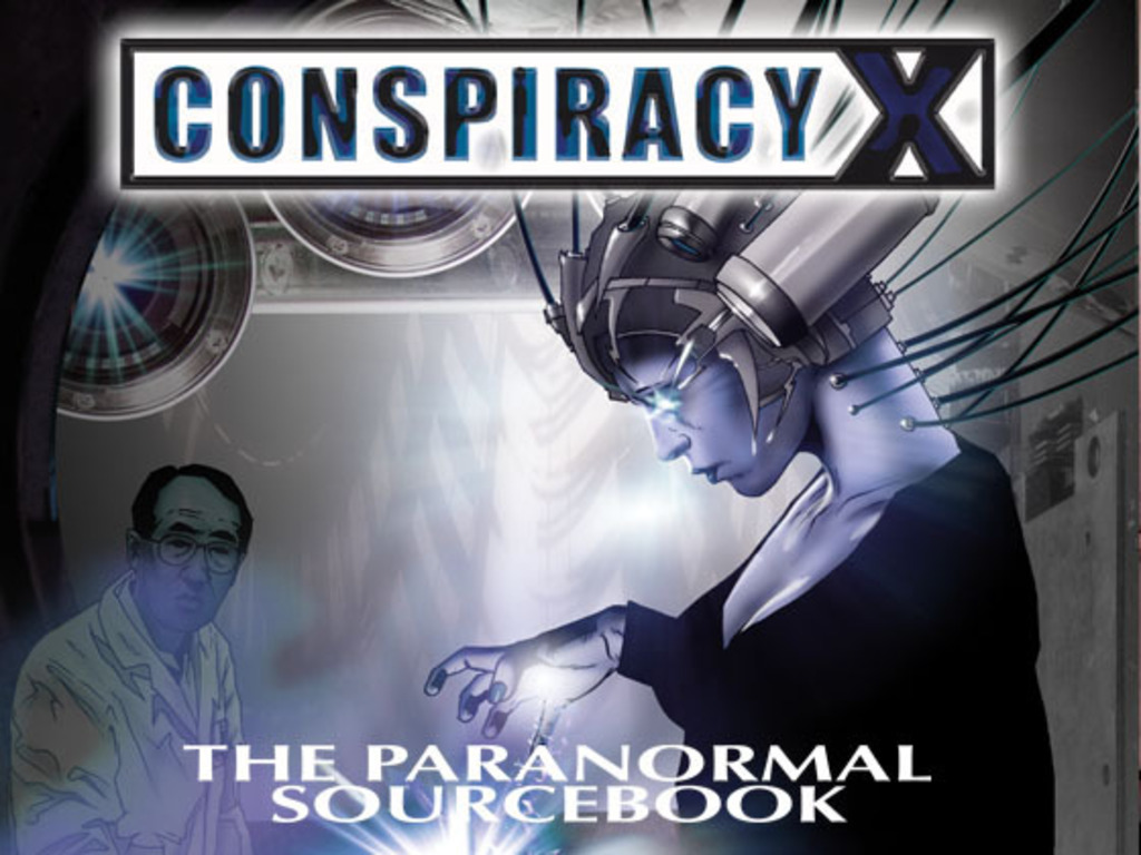 Conspiracy X RPG The Paranormal Sourcebook's video poster