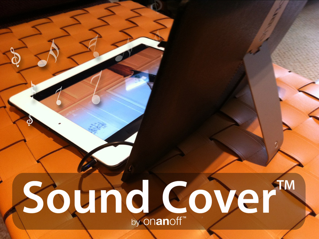 Sound Cover™: iPad2 Cover with Powerful Built-in Speakers's video poster