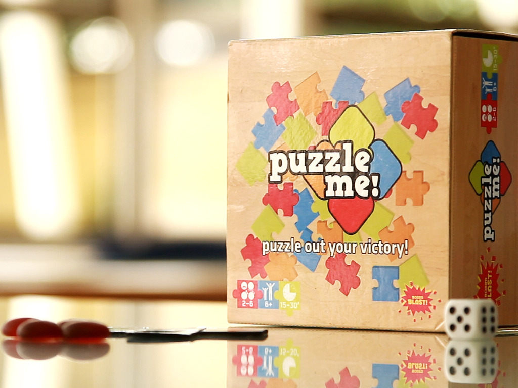 Puzzle Me! - A Family-Friendly Board Game's video poster