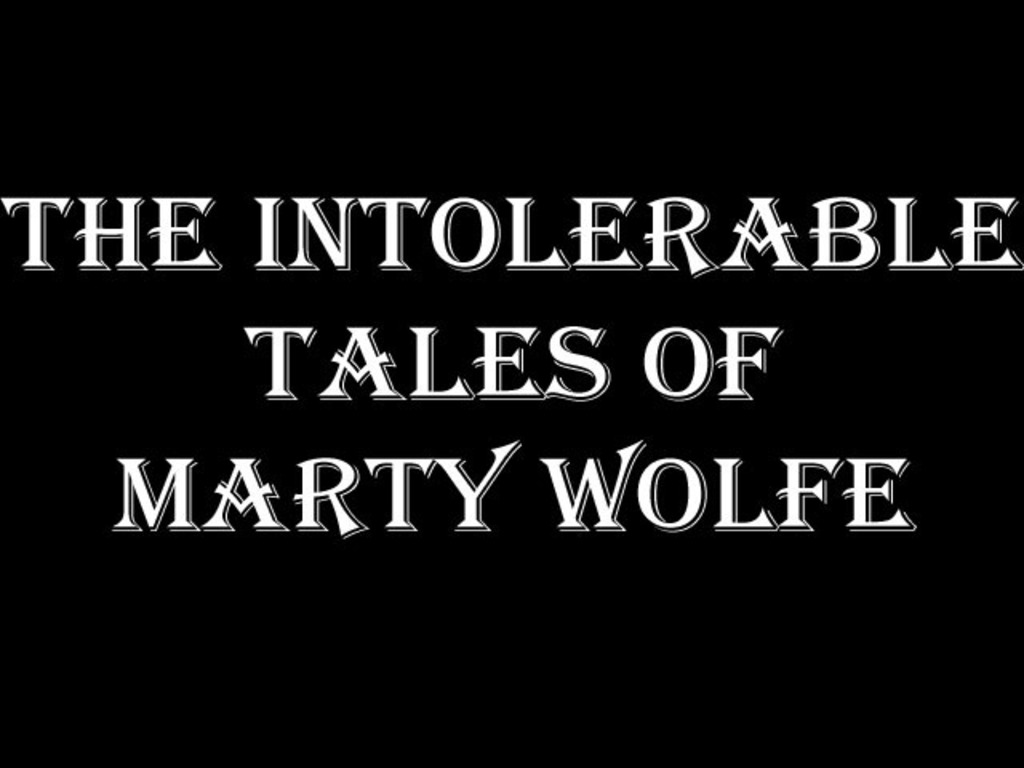Start Kicking the Intolerable Marty Wolfe TV Show Pilot!'s video poster