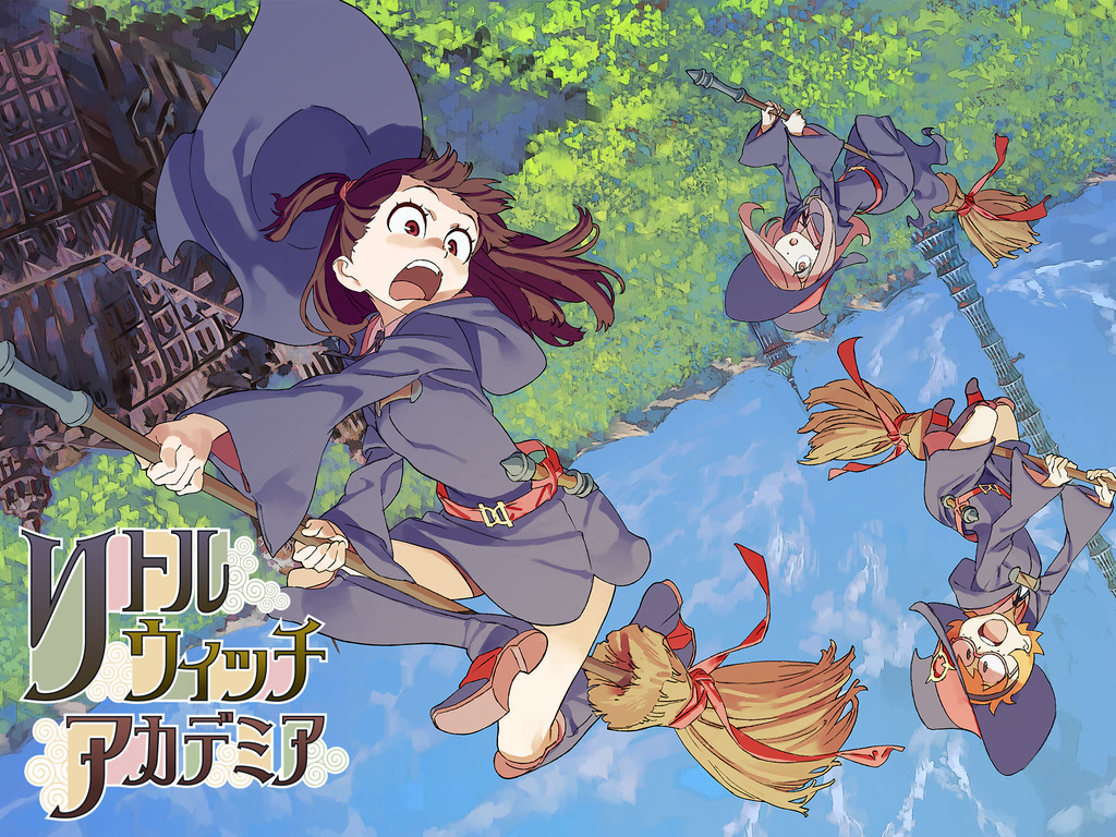 Little Witch Academia 2's video poster