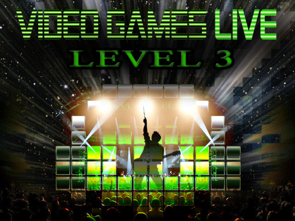 VIDEO GAMES LIVE: LEVEL 3! Game Composers of the World UNITE's video poster