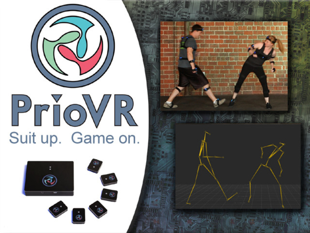 PrioVR : Suit up. Game on.'s video poster