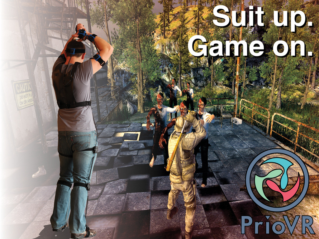 PrioVR: Suit up. Game on.'s video poster