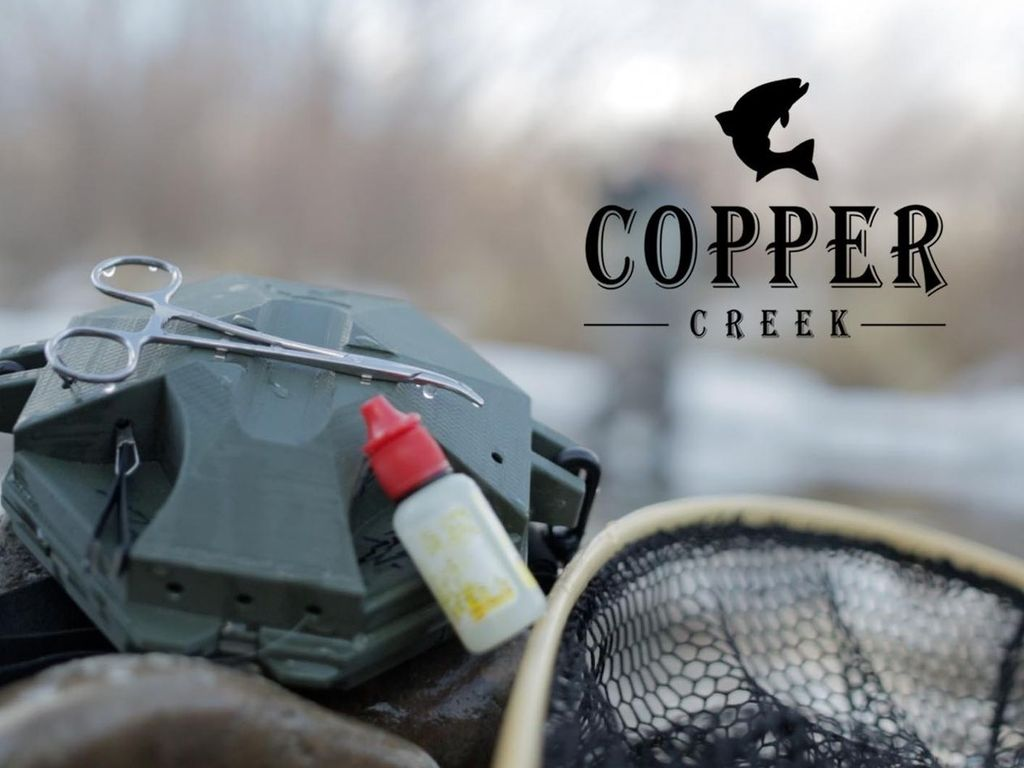 Copper Creek ~ SimpliFLY ~ Fishing & Fly Fishing Box & Pack's video poster