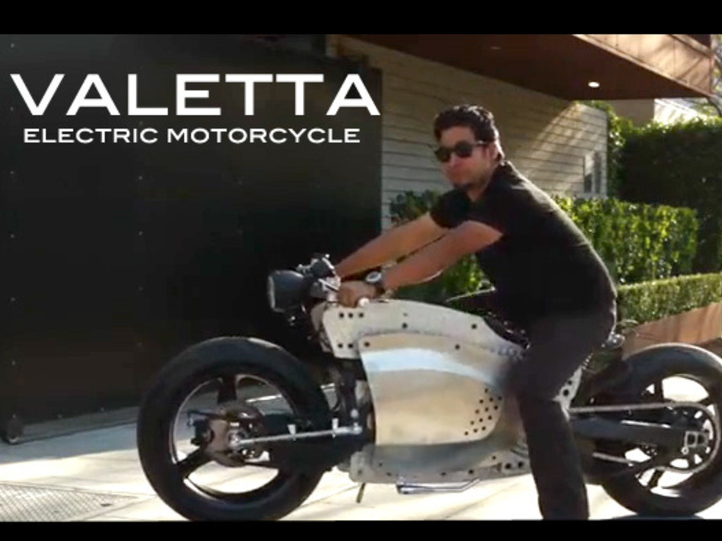 Valetta Custom Electric Motorcycle Prototype (Canceled)'s video poster