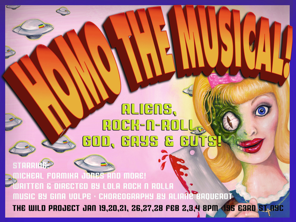 Homo The Musical's video poster
