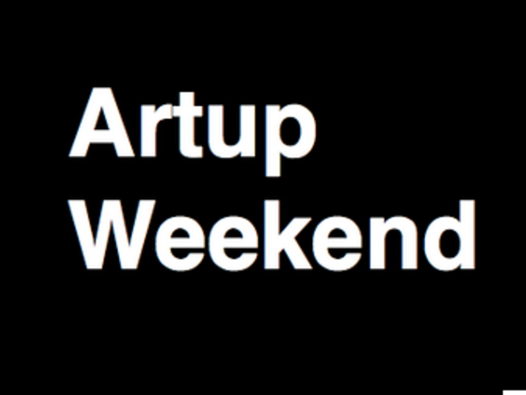 Artup Weekend's video poster
