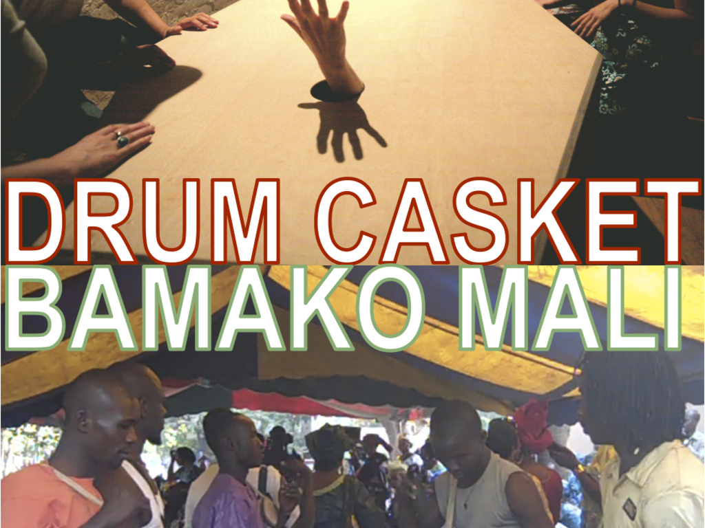 DRUM CASKET in BAMAKO's video poster
