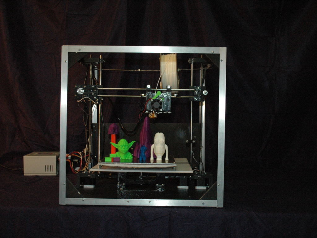 Asterid: Easy to Use Open Source 3D Printer's video poster