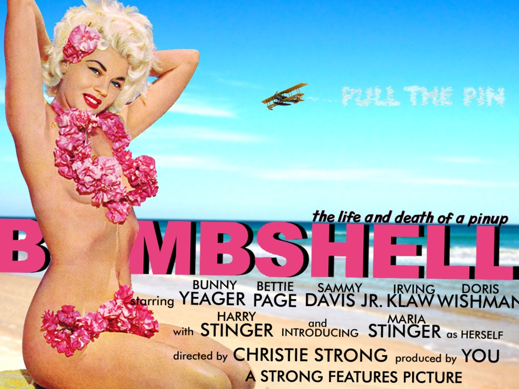 Bombshell: The Life and Death of a Pinup's video poster
