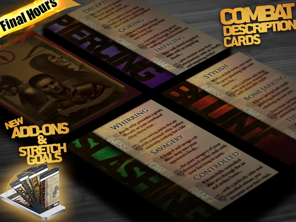 Combat Description Cards for Storytellers and GMs's video poster