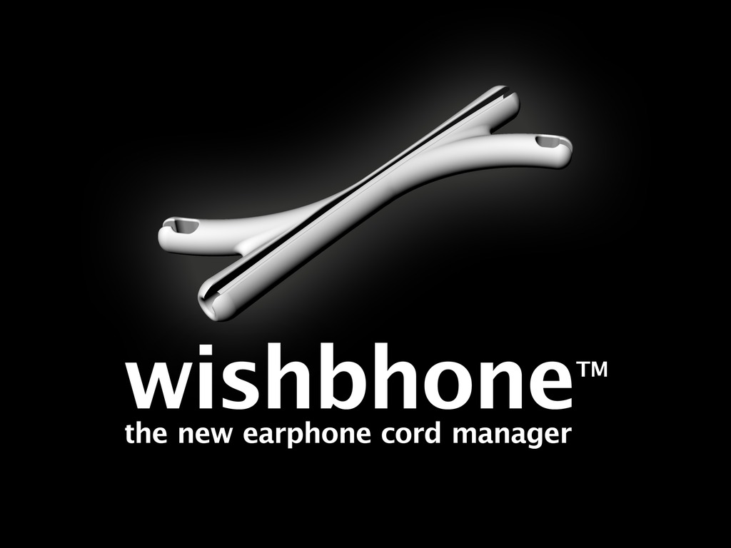 Wishbhone - the new clever earphone cord manager's video poster