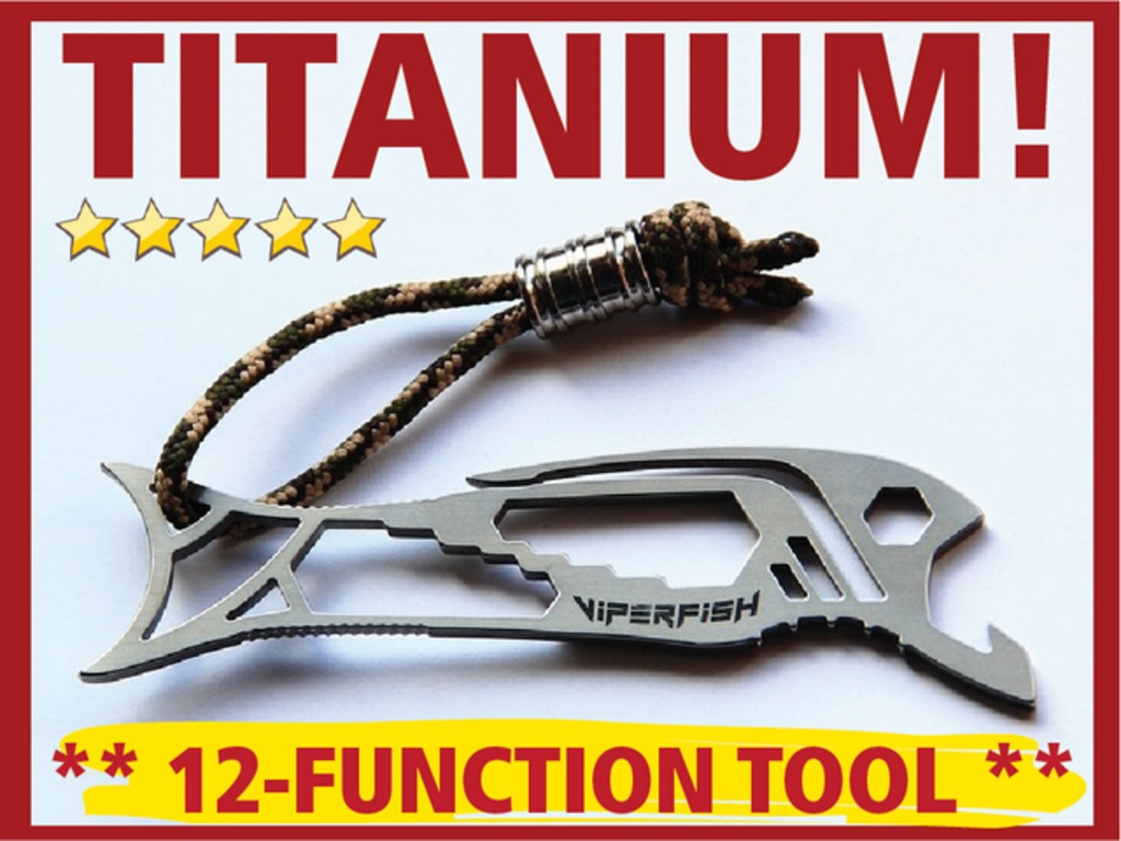 TITANIUM: Incredible 12-Function Ultimate Pocket Tool!'s video poster
