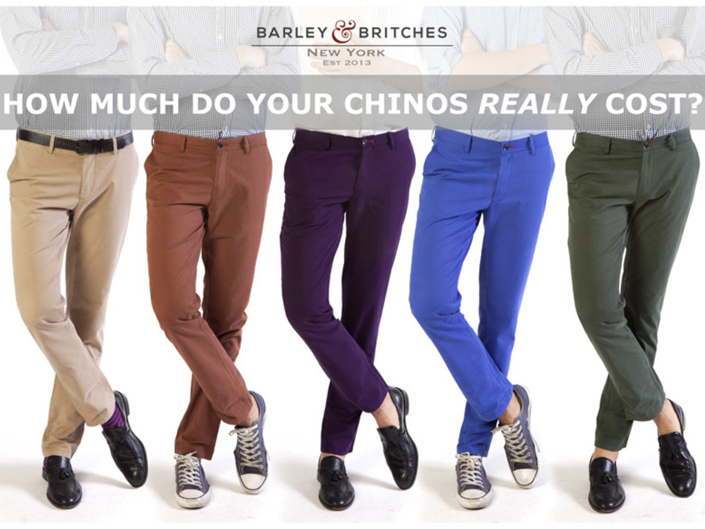 Barley & Britches: The Everyday Chino's video poster