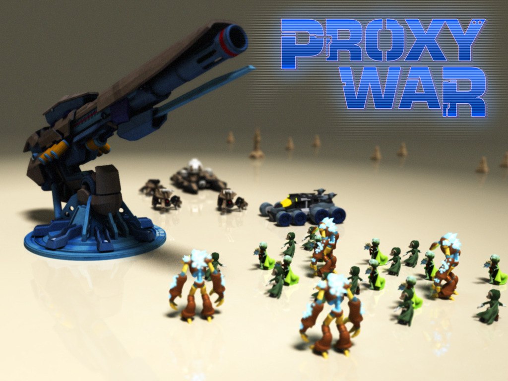 Proxy War: Custom 3D Printed Miniatures (Canceled)'s video poster